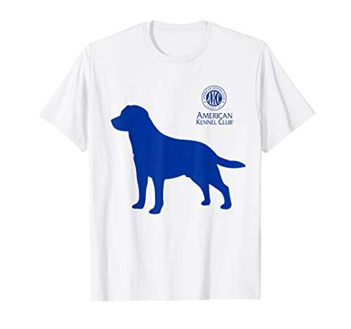 T-shirt Kennel - American Kennel Club Labrador Silhouette T-Shirt
