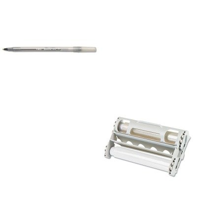 KITBICGSM11BKXRN145612 - Value Kit - Xyron Laminator Refill Cartridge (XRN145612) and BIC Round Stic Ballpoint Stick Pen (BICGSM11BK)