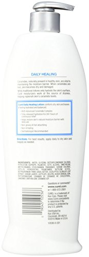 Curel Daily HealingComforting Lotion for Dry Skin – 20 oz – 2 pk