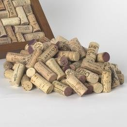 Premium Recycled Corks, Natural Wine Corks From Around the Us - 250 Count