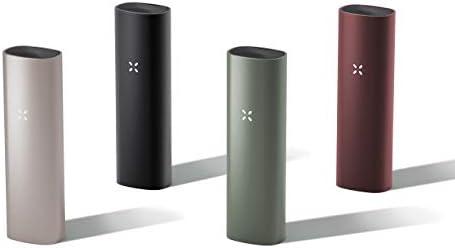 PAX 3 Premium Vaporisateur Portable, Herbe Sèche, Garantie 10 Ans, Kit Basic, Onyx