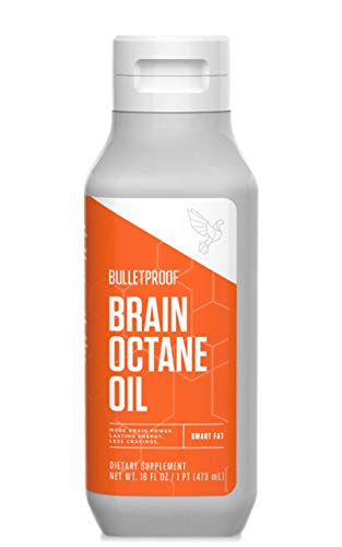 Bulletproof Brain Octane Oil, Reliable and Quick Source of Energy, Ketogenic Diet, More Than Just MCT Oil (16 Ounces)