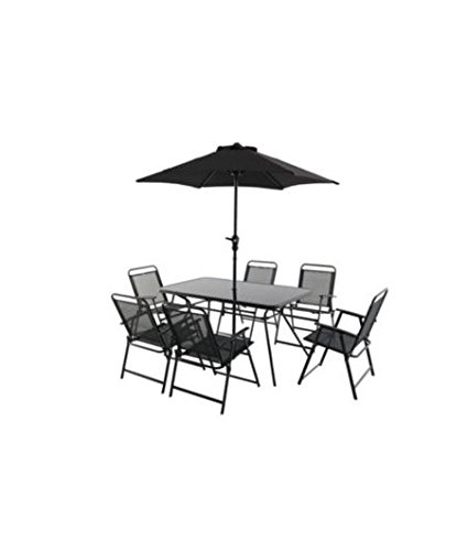 Amazon Bahama Metal 6 Seater Dining Set Office Products