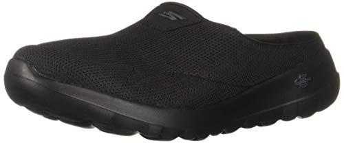 (Skechers Women's GO Walk JOY-15636 Mule Black 6 M US)