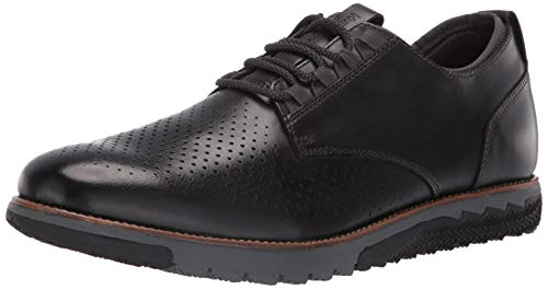 Hush Puppies Men's Expert Perf Oxford Loafer, Black Leather, 13.0 W - Oxford Hush Puppies Heels