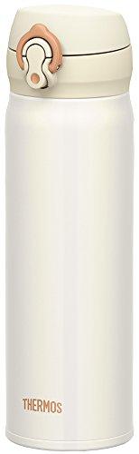 サーモス 水筒 真空断熱ケータイマグ 【ワンタッチオープンタイプ】 0.5L パールホワイト JNL-502 PRW