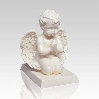 Memorials.com Praying Cherub Angel Infant Cremation Urn