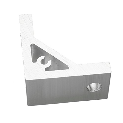 ZHFENG Machifit 90 Grad Aluminium Winkel Eckverbindung Eckverbinder Halterung for 3030 Aluminium Profil Bearbeitungswerkzeug Werkzeugmaschinenzubehör Halterungen für Drehmeißel