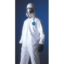 Tyvek Ty122S-4Xl Coveralls With Elastic Wrist/Ankle & Hood/Boot, 4Xl, 25/Case. by Tyvek (Image #1)