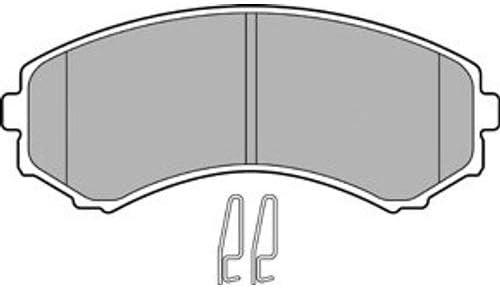 Delphi Bremsscheiben /Ø280Mm Bremsbel/äge Set Vorne