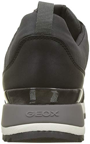Grey a Dk Geox Low ABX Gun Grey Top Sneakers Aneko D B C1g9f Women's w6qX6T7