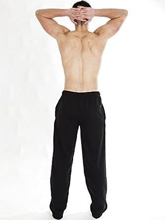 Love My Fashions/® Hommes Surv/êtement Ourlet Ouvert Soi Ceinture /Élastiqu/é Plaine Le Jogging Toison Bas D/écontract/ée Un Pantalon Grande Taille S M L XL XXL XXXL XXXXL