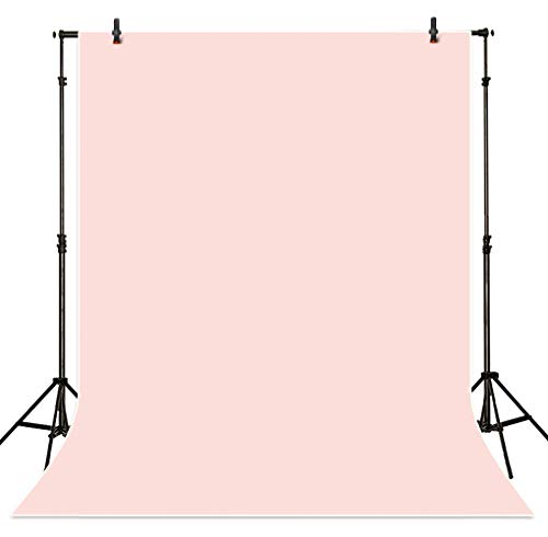 Allenjoy 5x7ft Solid Color Portrait Photography Backdrop Baby Pink Professional Photo Background Indoor Studio Shot Props Baby Photocall