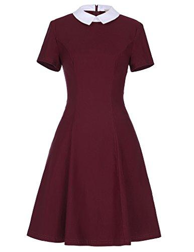 kate-kasin-slim-wine-short-sleeve-1950s-plus-size-picnic-dress-xl-kk388-2
