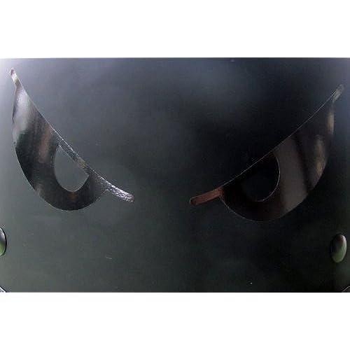 Reflective Helmet Decals Amazoncom - Motorcycle helmet decals graphicsappliedgraphics high visibility reflective motorcycle decals