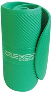 """Cando Closed Cell Exercise Mat, 26"""" X72"""" X0.6"""" , Black"""