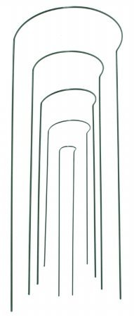 Gardman R743 Half Hoop Plant Support, 10'' Wide x 30'' High by Gardman