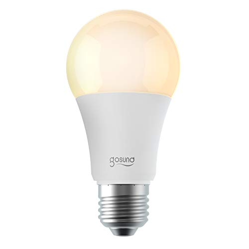 Smart WiFi Light Bulb Works with Alexa Google Home Siri, NiteBird RGB Color Changing Dimmable A19 E26 LED Lights Bulbs, Warm White 2700k, 75W Equivalent, No Hub Required, 2 Pack