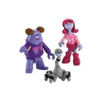 Imaginext Disney Pixar Monsters University Sorority Pack