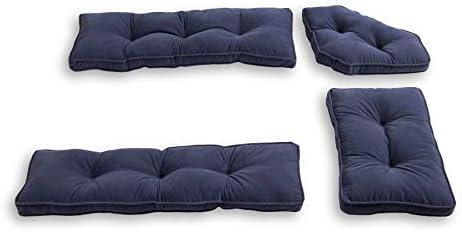 South Pine Porch Hampton 4-Piece Kitchen Nook Cushion Set