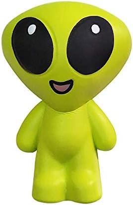 スローリバウンドのおもちゃ、大きな目の外国人がゆっくりとおもちゃのホットな新しい緑のために、バインドされたおもちゃ、緑のスクイズ救済のおもちゃを上昇 (Color : Green)
