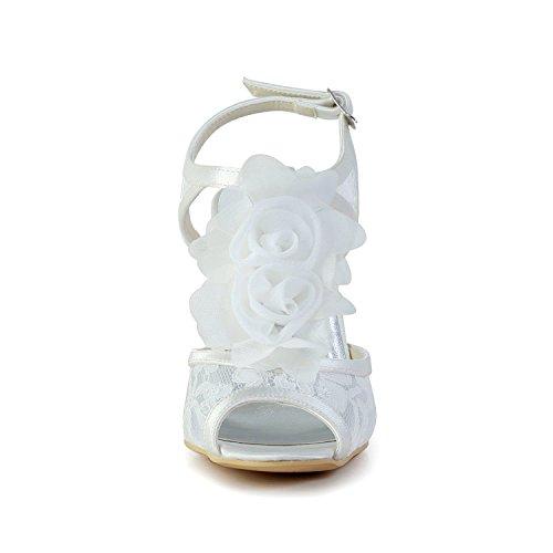 Minitoo , Sandales pour femme - blanc - White-9cm Heel,