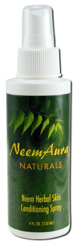 Neem Herbal Skin Conditioning Spray Neem Aura 4 oz -