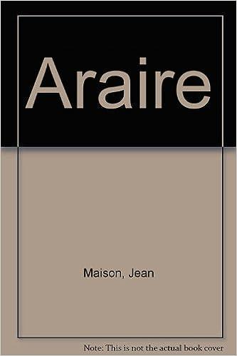 En ligne téléchargement Araire epub, pdf