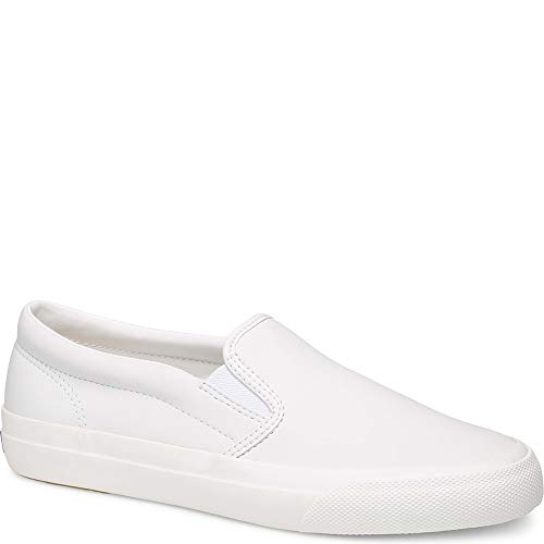 Keds Anchor Slip On Leather Women 7 White