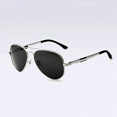 Tcaijing Gafas polarizadas Los Hombres al-magnesio Gafas de Sol ...