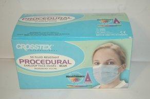 Crosstex Gcpbl Crosstex Procedural Face Mask Earloop by Crosstex