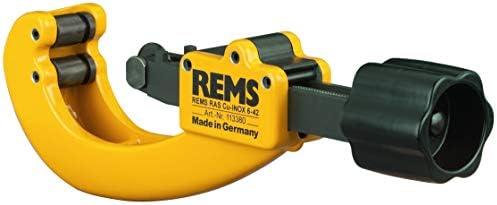 """Rems 113380 R Rohrabschneider RAS Cu,Inox 6-42 mm (Trennen von Rohre Durchmesser 6–42 mm, 1/4–1 5/8""""; Wanddicke s ≤ mm 4; Robust; Stabil)"""