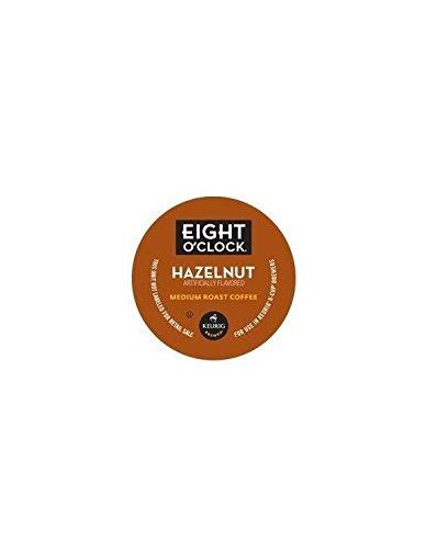 Millstone Hazelnut Coffee (Eight O'Clock Coffee Hazelnut Blend K-Cups - 120 Count Box)