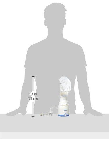 31atuzFt6GL - Vicks Personal Sinus Steam Inhaler Face Steamer with Soft Face Mask
