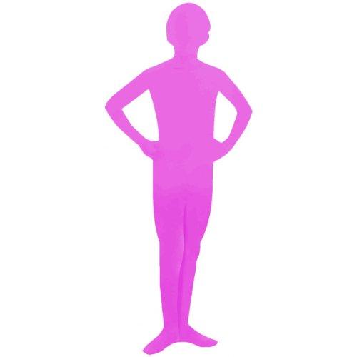 Forum Novelties I'm Invisible Costume Stretch Body Suit, Pink, Child Medium