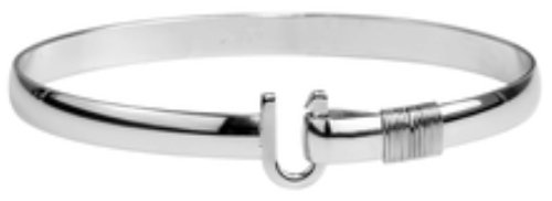 The Hook Company 6mm Titanium Original Hook Bracelet 7.5 In
