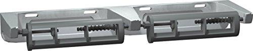 Toilet Tissue Dispenser Unit - ASI 0264-1A Surface Mounted Toilet Tissue Dispenser without Pin, Double Roll