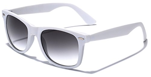 (Colorful Retro Fashion Sunglasses - Smooth Matte Finish Frame -)