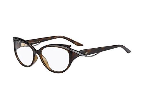 DIOR Eyeglasses 3278 09OJ Havana Ruthenium 54MM
