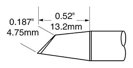 OKI METCAL soldadura AKX STV-DRH440A punta de 4 mm (certificado personificación) [