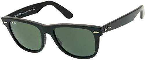 c5ce93917 Ray-Ban Wayfarer Unisex Sunglasses - Black [RB2140-901-52]: Amazon ...