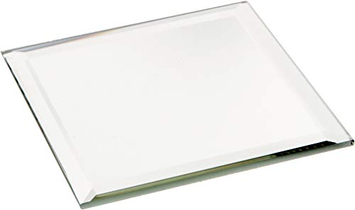 (Plymor Square 3mm Beveled Glass Mirror, 3 inch x 3 inch (Pack of)
