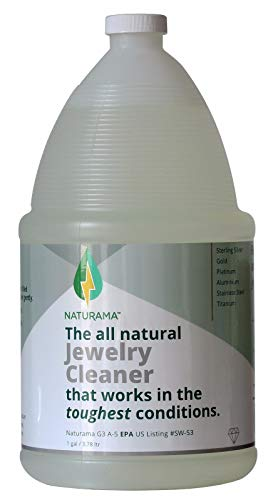 Naturama, All Natural Jewelry Cleaner, Eco-Friendly EPA Registered for all your Fine Jewelry. Made in the U.S.