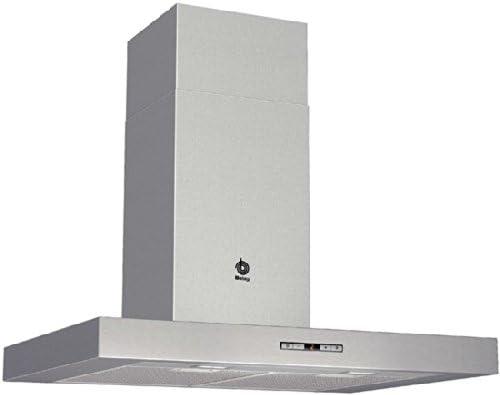 Balay 3BC876XM - Campana (Montado en pared, Canalizado/Recirculación, A+, Acero inoxidable, Botones, Aluminio): 339.88: Amazon.es: Hogar