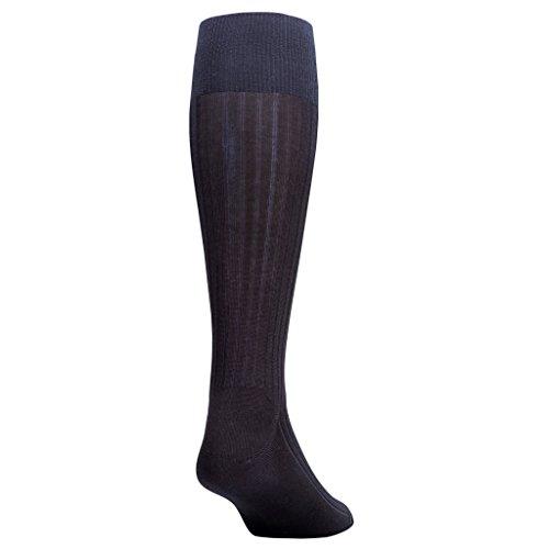 Gold Toe Men's Premium Over the Calf Canterbury Dress Socks, 3-Pack