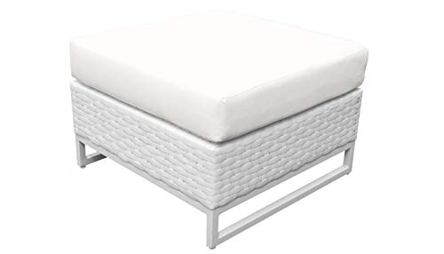 TK Classics TKC047b-O-WHITE Miami Seating Patio