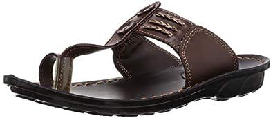 PARAGON Men's Brown Formal Thong
