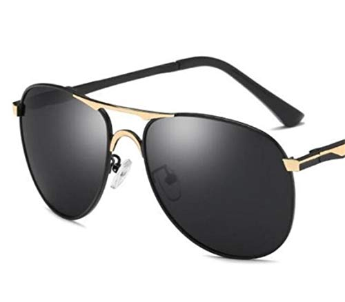 UV400 para libre de sol al protección Moda de Gafas sol FlowerKui Conducción Hombres de Mujeres aire gafas Golden polarizadas la pesca AwHS7Oq