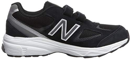 New Balance Boys' 888v2 Hook and Loop Running Shoe Black/Grey 2 XW US Infant by New Balance (Image #7)