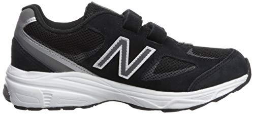 New Balance Boys' 888v2 Hook and Loop Running Shoe, Black/Grey, 2 M US Infant by New Balance (Image #7)